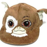 Gremlins Gizmo Flatbrim Hat with Faux Fur Baseball cap Adult