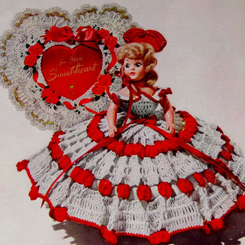 Dolls and Dolls Crochet Patterns Vintage Hobbies and Crafts Star Book 1951 Paperback No 84