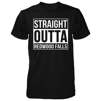 Straight Outta Redwood Falls City. Cool Gift - Unisex Tshirt