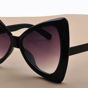 Cat Eye Sunglasses women Bow frame sun glasses fashion
