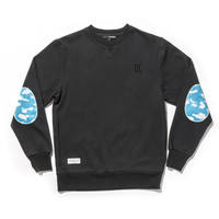 Quiet Life: Cloud Professor Crewneck - Black