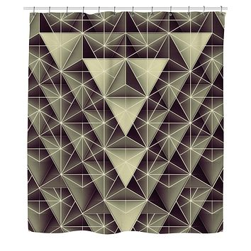 Isometry Shower Curtain