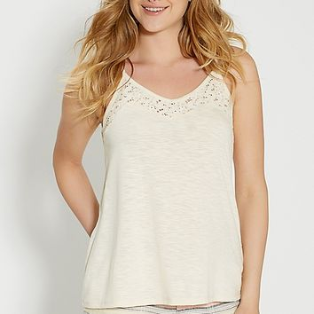 swing tank with lace | maurices