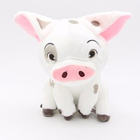 Moana Pet Pig Pua Original Kawaii 25cm Plush Animal TY Piggy Toys