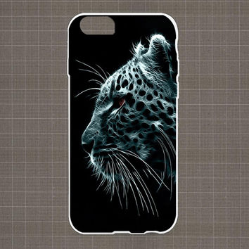 Digital Leopards Snow iPhone 4/4S, 5/5S, 5C Series Hard Plastic Case