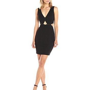 GUESS Women's Sleeveless Mya Cut Out Dress