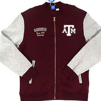 Texas A&M Aggies Adidas Full Zip Sweatshirt Size L