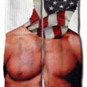 2pac All Over Print Custom Printed High Long Cotton Socks
