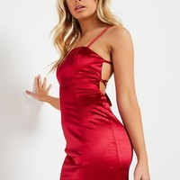 Fuego Dress - Wine