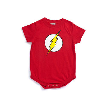 Flash Logo Infant Onesuit
