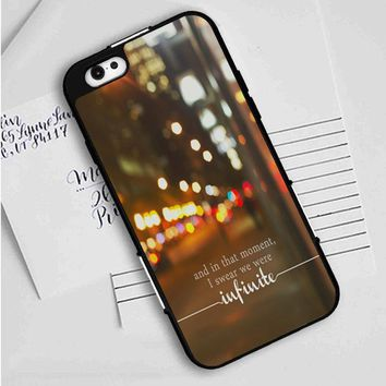 Perks Of Being A Wallflower (infinite) iPhone Case