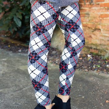 The One Plaid Leggings