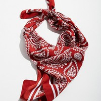 Extra-Large Silky Square Scarf | Urban Outfitters