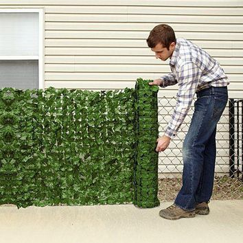 Ivy Privacy Fence Cover