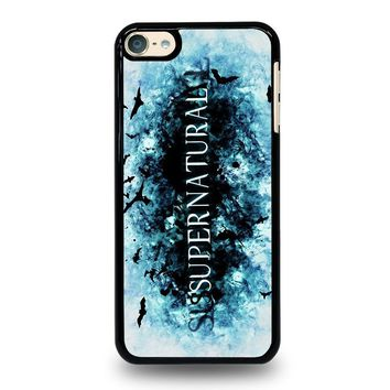 SUPERNATURAL LOGO iPod Touch 4 5 6 Case Cover