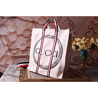 GUCCI WOMEN'S 2018 HOT STYLE CANVAS TOTE BAG HANDBAG