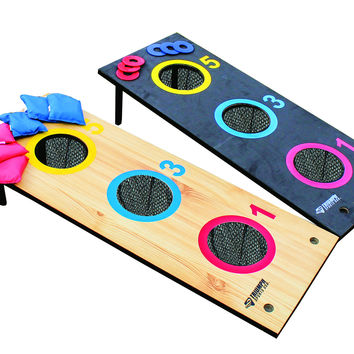 Triumph Sports USA Advanced 2-in-1 3-Hole Bag Toss/3-Hole Washer Toss