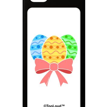 Easter Eggs With Bow iPhone 5 / 5S Grip Case  by TooLoud