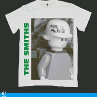THE SMITHS morrissey screen print men t shirt ety95M