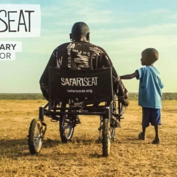 SafariSeat: Open source wheelchair for developing countries.