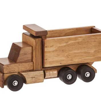 Wooden Truck - Dumptruck Traditional Toys for Kids