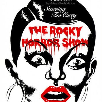 The Rocky Horror Picture Show 11x17 Broadway Show Poster