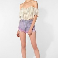 Stone Cold Fox Holy Cropped Lace Top