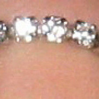 Clear Crystal Stretch Toe Ring