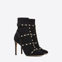 Rockstud Bootie for Woman | Valentino Online Boutique