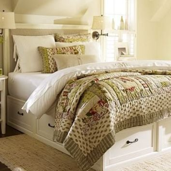 Stratton Bed with Drawers | Pottery Barn