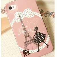 Cool Stuff - Kate Spade Paris Charm Pink Cover for Iphone 4 4s