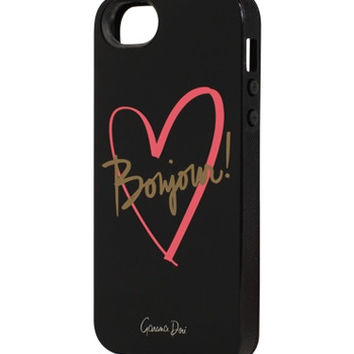 Bonjour iPhone 5+5s Case - INLAY