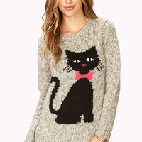 Heathered Cat Craze Sweater