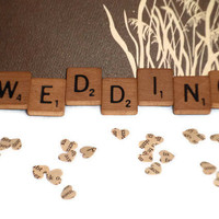Wedding Magnet - Scrabble Tiles