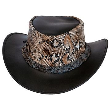 Monty Genuine Leather Outback Cowboy Hat