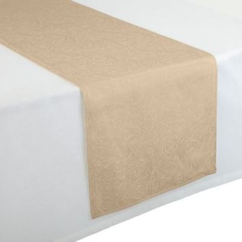 Waterford® Linens Chelsea 16-Inch x 90-Inch Table Runner