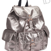 Live Love Dream  Womens LLD Shimmer Backpack - Yellow