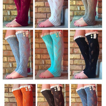 Women's Boot Sock Pack of 10 Pairs!
