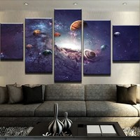 Solar System Canvas Set