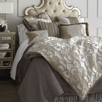 """Pure Pewter"" Bed Linens - Horchow"