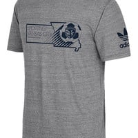 Adidas Sporting Kansas City Gray Mens Break Through Tee