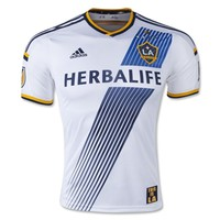 LA Galaxy 2015 Authentic Home Soccer Jersey - WorldSoccerShop.com