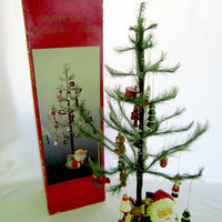 Christmas Tree Tabletop Musical Revolving Decorated Holiday Tree By Herald