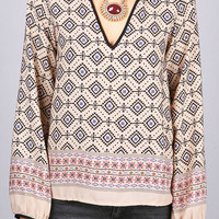 Archaic Bunch Blouse   Cute Tops at Pink Ice