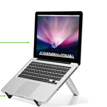 Multi-function MacBook Air etc. Any ComputerAluminium Slloy Dissipate Heat Triangle Bracket Hold Case