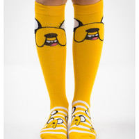 Adventure Time Finn Big Face Knee High Socks