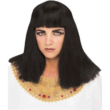 Cleopatra Wig Costume Accessory Adult Halloween