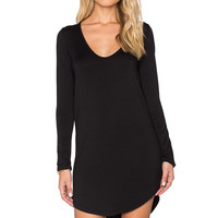 Riller & Fount Molly Dress in Black