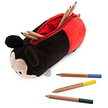 Mickey Mouse ''Tsum Tsum'' Plush Pencil Case