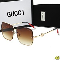 GUCCI Fashionable Women Chic Cute Summer Style Sun Shades Eyeglasses Glasses Sunglasses 4#